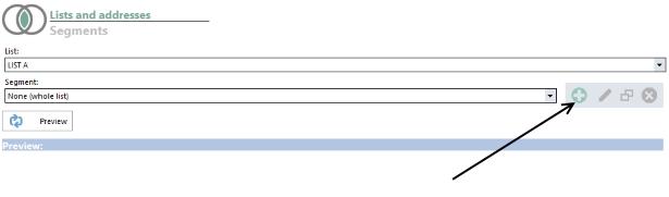 List segments
