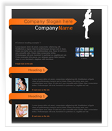 Professional mail templates