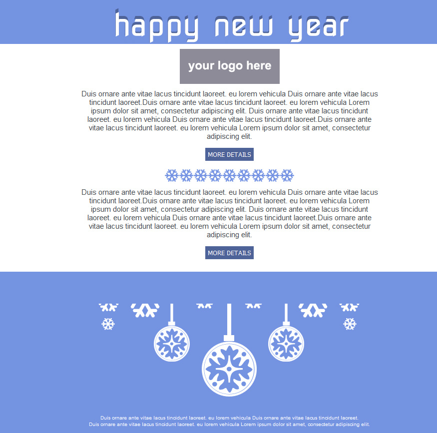 Email Greeting Christmas cards and Holiday email templates for free ...