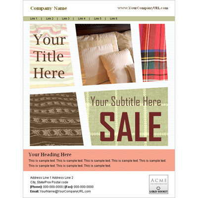 Email Marketing Template Samples | Sendblaster