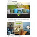 home furnishings email marketing template