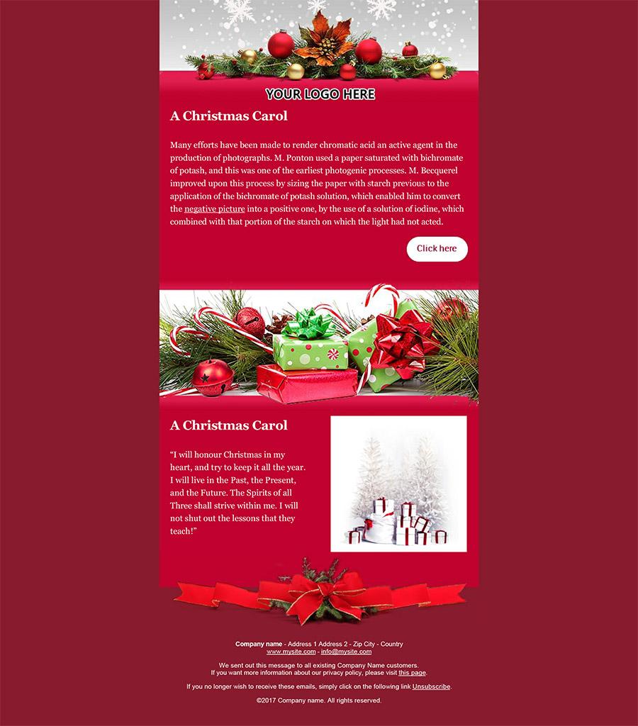 Create Your Christmas Newsletters 2017 Sendblaster Bulk Email Software