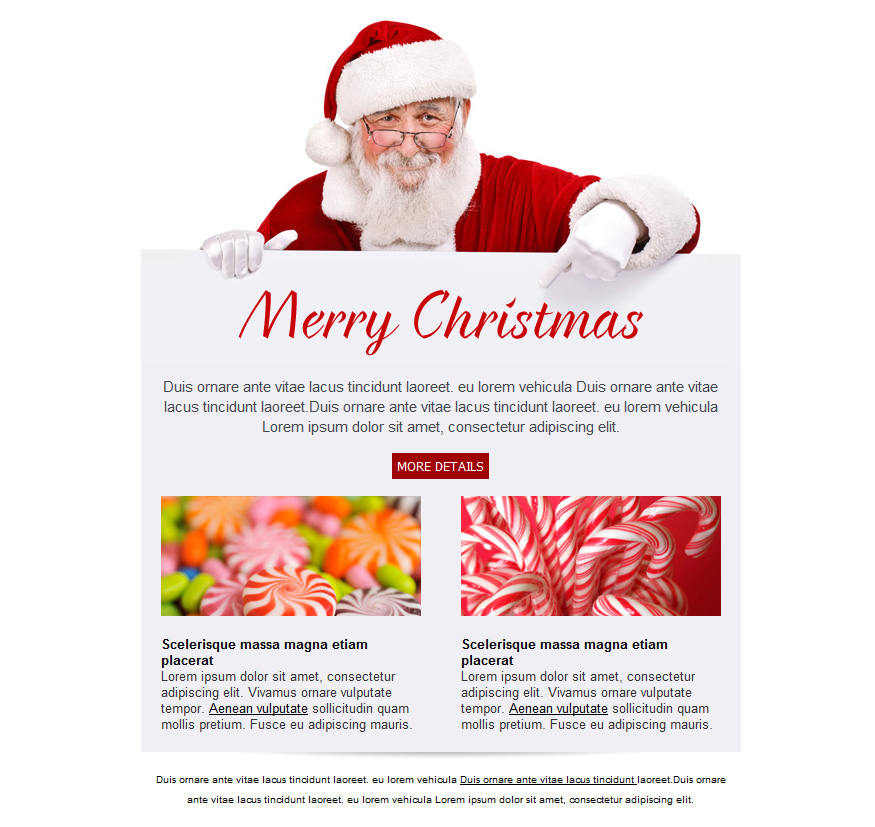 Free email templates for christmas card greeting sendblaster bulk christmas email templates maxwellsz