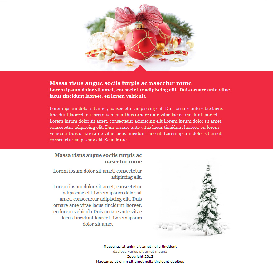 christmas email templates - Email Christmas Cards