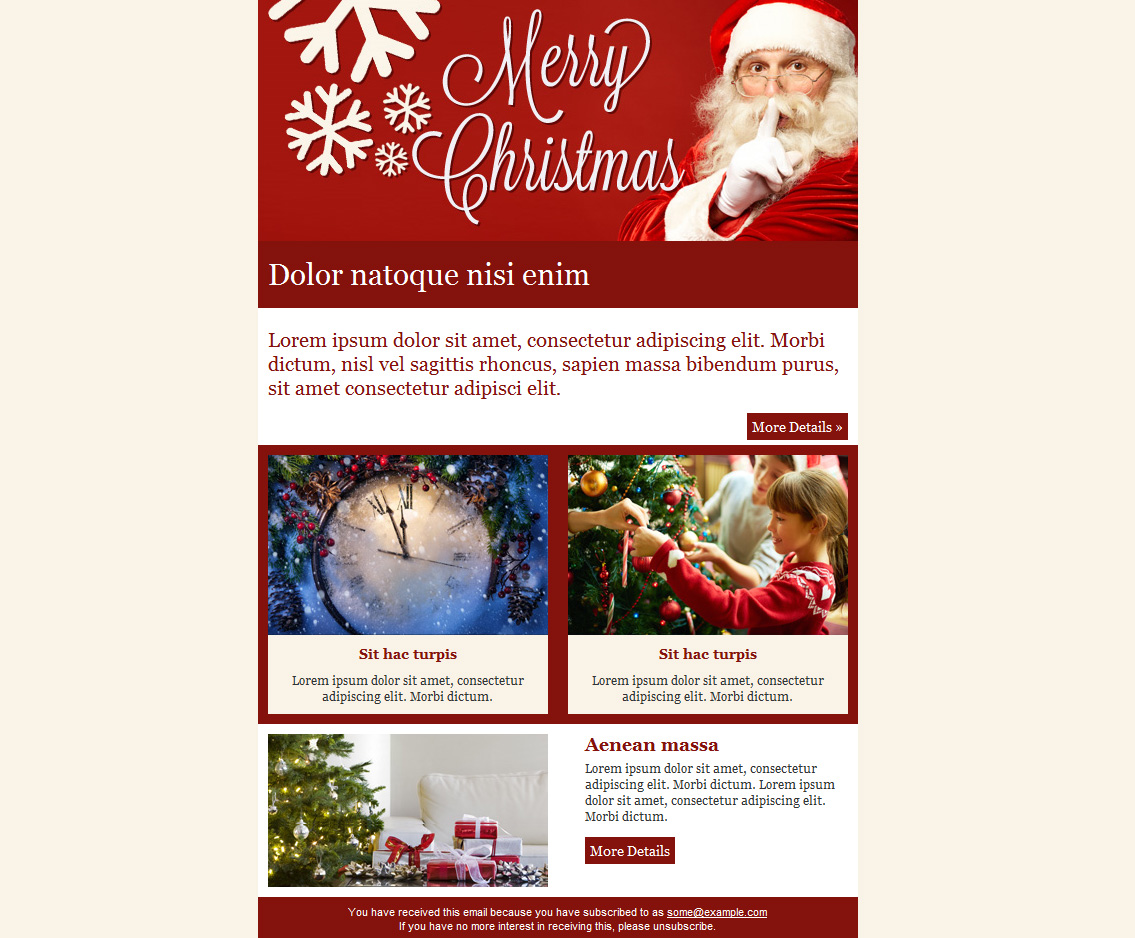 Free email templates for christmas card greeting sendblaster bulk christmas email templates spiritdancerdesigns Image collections