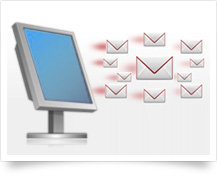 Desktop email marketing software