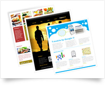 Email marketing software templates