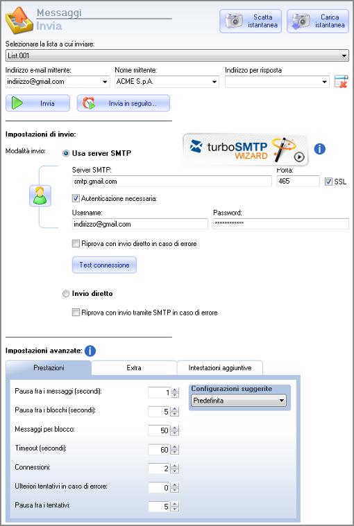 Come configurare il server SMTP di Gmail